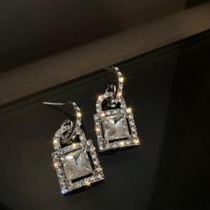 3/$20 New Silver Rhinestone Statement Earrings